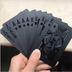 vandafvisende spillekort kortspil